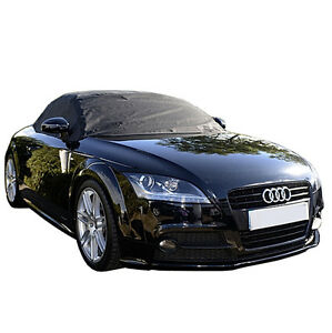 Rp238 Audi Tt Convertible Soft Top Roof Half Cover Mk2 Typ 8j 2006 To 2014