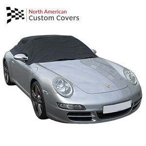Rp232 Porsche 911 996 997 Convertible Soft Top Roof Half Cover 1999 To 2011