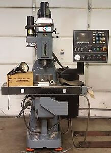 Clausing Kondia Cnc Fv 1 3 Axis Vertical Milling Machine 3hp 3ph 2017 Refurb