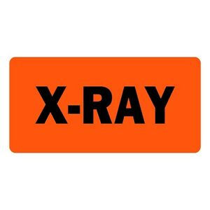 X ray Veterinary Labels