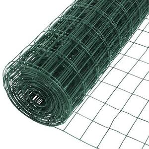 5 Ft X 50 Ft 14 gauge Vinyl Galvanized Welded Wire Fence Fencing
