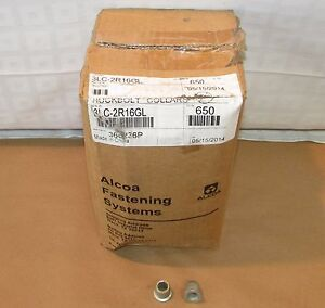 3lc 2r16g 1 2 Dia Flanged Head Huckbolt Collers case Of 650
