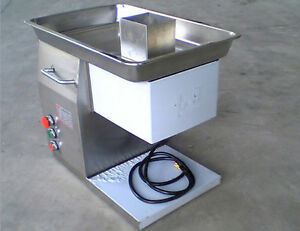 Qx Series Stainless Steel Meat Slicer Meat Cutting Machine Cutter 250kg Output
