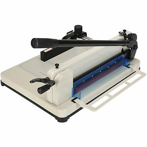 400 Sheets Heavy Duty 12 Paper Cutter Trimmer Metal Base Commercial Office New