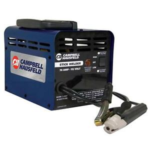Campbell Hausfeld 115 volt 70 amp Stick Welder W Thermal Overload Protection