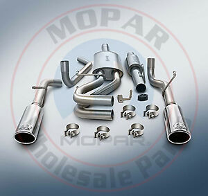 Dodge Ram 1500 5 7l Mopar Cat back Performance Exhaust System New Oem Mopar
