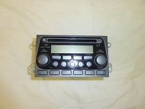 03 04 05 06 Honda Element Am Fm Radio Stereo Mp3 Cd Player Factory Oem W Code