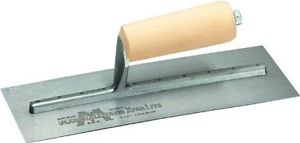 Marshalltownthe Premier Line12 11 inch By 4 1 2 Drywall Trowel With Curved Blade