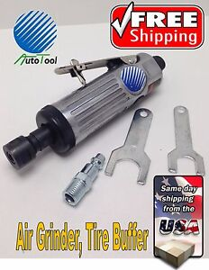 1 4 In Air Die Grinder 22000 Rpm Pneumatic Polisher New Tire Buffing Patch