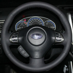 Steering Wheel Cover For Subaru Impreza Legacy Forester 2008 2009 2010 2011 2013