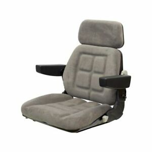 Case Magnum 71 89 Series Tractor Seat Km 600assembly Without Original Swivel