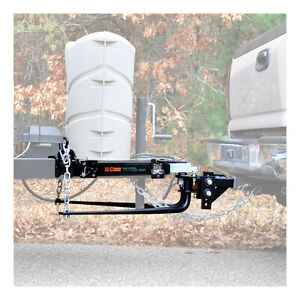 14k Round Bar Weight Distribution Trailer Hitch Package W 2 5 16 Ball 17222