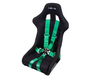 Nrg Green 6 Point Racing Seat Belt Harness Safety Belt Cam Lock Sbh 6pcgn