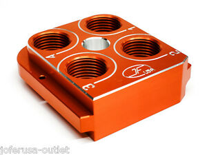 DILLON Precision RL550B Style tool head Billet Aluminum CNC Made ToolheadORANGE