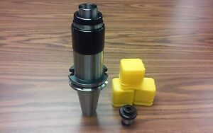 Cat40 Tapping Head tapping Collet Chuck W Any 3 Positive Drive P type Adapters