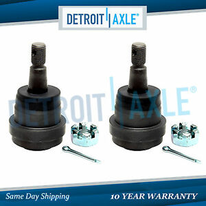 2 Front Lower Adjustable Ball Joints For 2000 2001 Dodge Ram 1500 2500