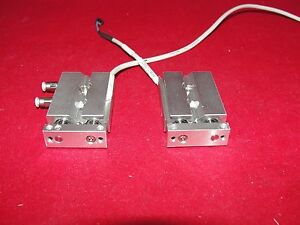 Smc Cxsjm6 10 Pneumatic Cylinder Slide Lot Of 2