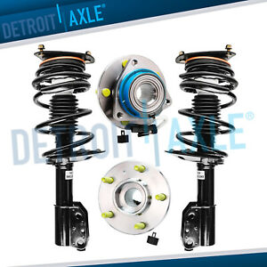 New Front Quick Struts And Wheel Hub Assemby Impala Regal Monte Carlo Intrigue