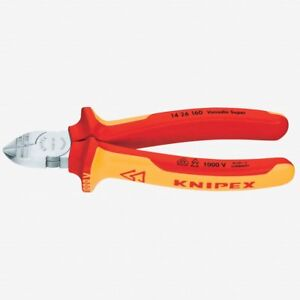 Knipex 14 26 160 6 3 Diagonal Wire Insulation Strippers Insulated