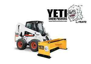 8 Yeti Snow Beast Skid steer Snow Pusher