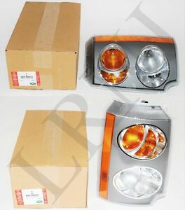 Land Rover Range Rover L322 2003 2005 Front Turn Side Signal Light Set Rh Lh