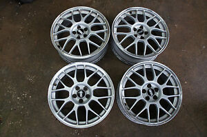 Jdm 17 Bbs Forged Wheels Rims Subaru Impreza Gc8 Sf5 Pcd100x5 Rg345 Gf8
