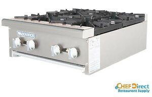 Radiance Air Tahp 24 4 24 Counter Top 4 Burner Gas Commercial Hotplate