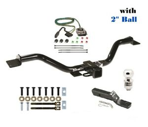 Trailer Hitch Package W 2 Ball For 13 17 Chevy Traverse Buick Enclave 75528