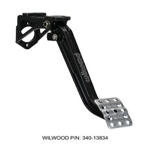 Wilwood 340 13834 Swing Mount Clutch Brake Pedal Assembly