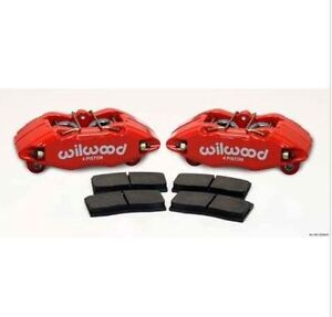 Wilwood 140 13029 r Forged Dpha Front Caliper Kit Red Powder Coat Caliper
