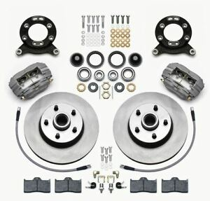 Wilwood 140 13476 Classic Series Dynalite Front Brake Kit Plain Face Rotor