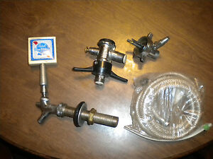 Used Beer Tap System Hose coupler And More