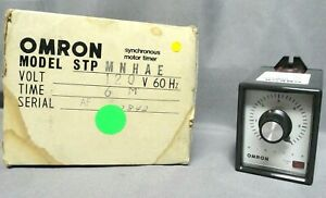 Omron 6 Minute Submini Timer Stpmnhae 120vac 60hz New In The Box