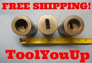 2 Dia Cnc Lathe Bushings With Morse Taper 1 2 2 Inside Machine Shop Machinist