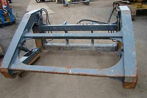 Jrb Pipe Clamp Grapple Forks Pipe pole Dtcpf 106x60 For Deere 544k Wheel Loader