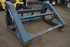 Jrb Pipe Clamp Grapple Forks Pipe pole Dtcpf 106x60 For Deere 544 Wheel Loader