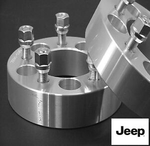 4 Pc Jeep Wrangler 5x4 50 Wheel Spacers 1 50 Inch 5450c1 2 4