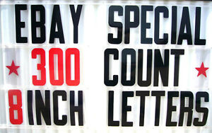 8 On 8 7 8 Flexible Plastic Sign Letters Numbers For Outdoor Portable Signs