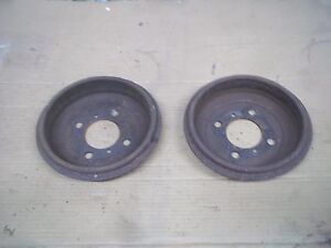 1965 Triumph Herald Rear Brake Drums Left Right 1964 1966 1967 Oem Y