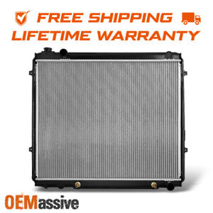 Aluminum Radiator For V8 4 7l 8cyl Toyota Tundra Pickup 22 5 8 Core Height