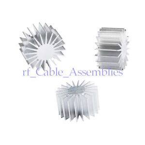 30pcs 1 3w Watt Led Extrusion Aluminum Heat Sink Round Radiator 36mm Od 20mm H