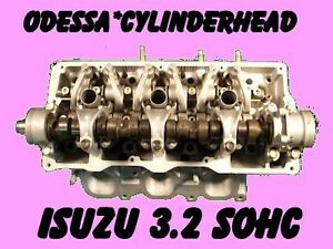 Isuzu Rodeo Trooper 3 2 Sohc Cylinder Head V6 12v Rebuilt No Core