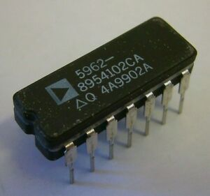 new Analog Devices 5962 8954102ca Ic Chip 14 pin