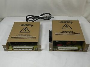 Applied Kilovolts Micromass Q tof Hp8 154 K1 58 Power Supply Lot Of 2 Used
