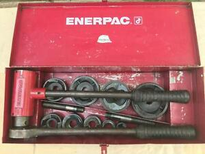 Enerpac Slug Buster Knockout Punch Set Complete 1 2 2 1 2 With Extras