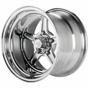 Billet Specialties Rs035106135n Street Lite Polished Wheel Size 15x10 Bs 3 5