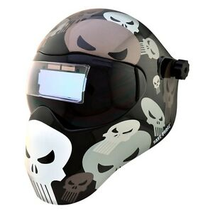 New Save Phace Efp f Series Welding Helmet Marvel Punisher 180 4 10 Adf Lens