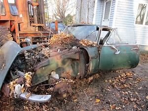 1960 S Mgb Coupe For Parts