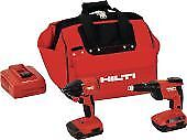Hilti 3487033 Combo Sid 18 a Sd 4500 a18 Cordless Systems