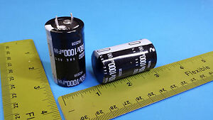 Capacitors 1000uf 160v Aluminum Electrolytic snap In smg160vnsn1000m 200 Pcs